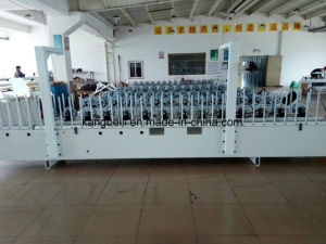 Cabinet Decorative TUV Certificated Woodworking Wrapping Machine pictures & photos