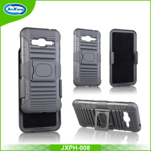 Manufacturer Wholesale for 2017 Newest Arrival Smart Cell Phone Case with Belt Clip and Kickstand for Galaxy J3 pictures & photos