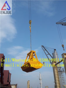 6 12cbm 30t Radio Remote Control Grab for Discharging Coal pictures & photos