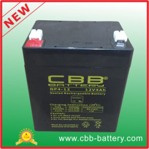 Most Popular 12V4ah UPS Battery for Solar System 12V4ah Lead Acid Storage Battery Motorcycle pictures & photos