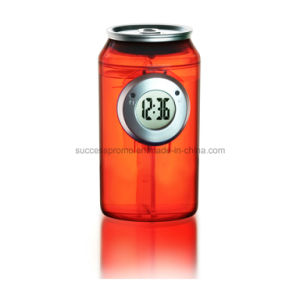 Novelty Gift Kola Cans Shaped Water Powered Clock pictures & photos