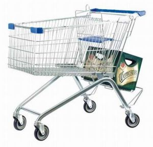 Wanzl Style Caddie Supermarket Retail Store Convenient Shopping Trolley pictures & photos