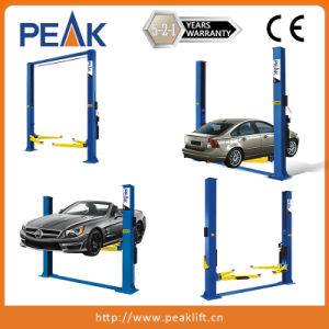 High Rise 5.5t Capacity 4 Columns Vehicle Lift with Alignment (412A) pictures & photos
