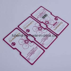 Custom High Quality Printed Plastic Packing Card pictures & photos