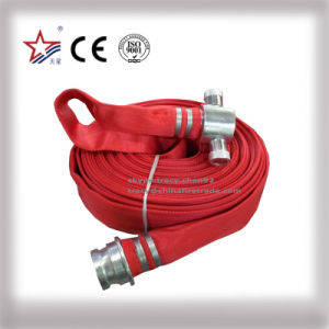 65mm Synthetic Rubber Lined Fire Hose Industrial Hose Water Discharge Hose pictures & photos