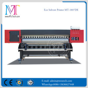 Inkjet Printer Digital Large Format Printer 1.8 Meters Eco Solvent Printer for Vinyl Banner pictures & photos