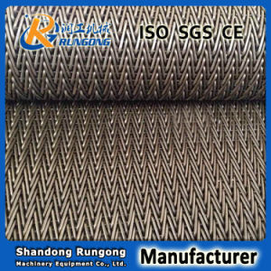 High-Density Herringbone Conveyor Belt for Small Size Food pictures & photos