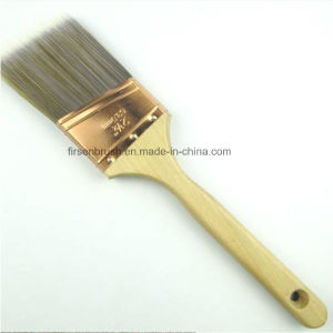 High Quality Srt PBT/Nylon Filament Paint Brush with Long Sash Wooden Handle pictures & photos