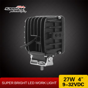 4′′ 27W CREE Vehicle LED Work Light pictures & photos