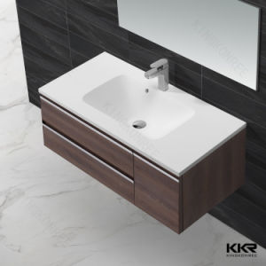 2017 Hot Ce Approval Solid Surface Countertop Cabinet Basin pictures & photos