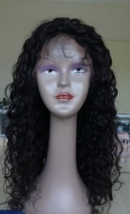 Full Lace Human Hair Wig Hot Selling Beautiful Women Wig pictures & photos