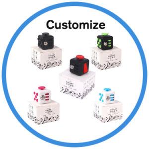 2017 New Arrival Toy Fidget Plastic 3D Magic Cube Puzzle pictures & photos