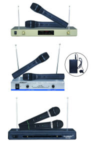 VHF Dual Band Handheld Wireless Microphone Conference System pictures & photos