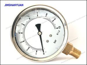 Og-017 Hydraulic Pressure Gauge/Liquid Filled Pressure Gauge pictures & photos