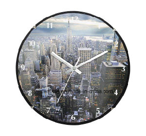 Landmarks in Modern Foreign Country Customized Wall Clock pictures & photos