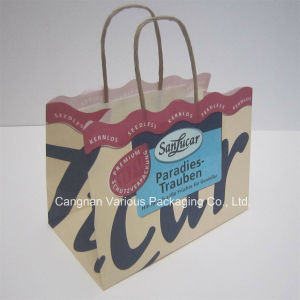 Custom Design Kraft Paper Bag for Gift Packaging pictures & photos