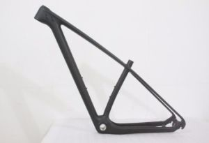 Durable Carbon Matte Black Frame for Mountain Bicycle pictures & photos