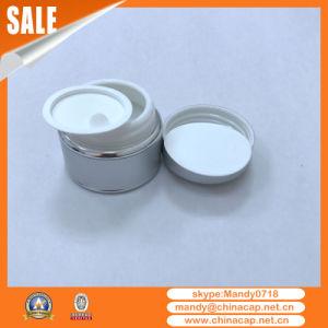 Wholesale Cosmetics Aluminum Glass Cream Jar with Lids pictures & photos