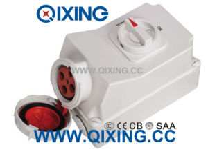 125A IP67 4p Interlocked Receptacle Switch pictures & photos
