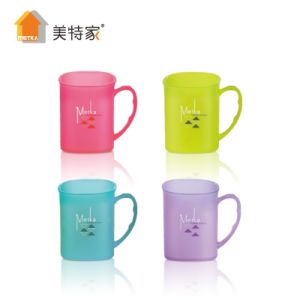 6104 Metka Household Plastic Square Colorful Cup pictures & photos