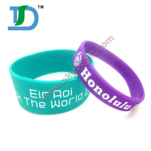 Promotional OEM Custom Silicon Bracelet pictures & photos