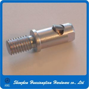 Stainless Steel Threaded Stud End Clevis Pin with Thread pictures & photos