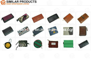 Customized PU/PVC Leather Made Bio-Folded Money Wallet pictures & photos