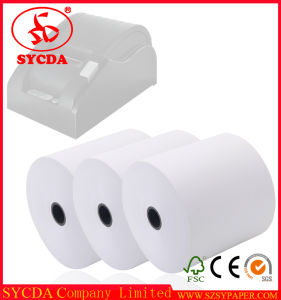 48g Thin Thickness Good Image Customer Size Thermal Paper Roll pictures & photos