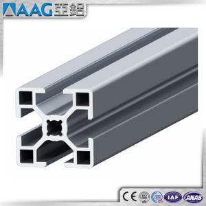 Silver Anodided Industry Aluminum Extruded Profile pictures & photos