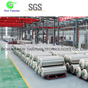 199L Volume 1.4MPa Working Pressure Cryogenic LNG Cylinder