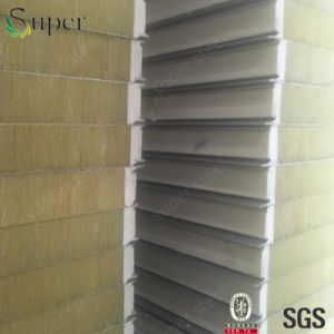 Good Quality Rockwool Sandwich Panel for House pictures & photos