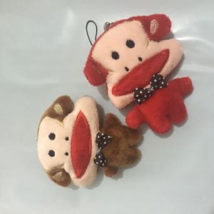 Plush Toys Soft Toys Monkey Key Chain Pendant pictures & photos