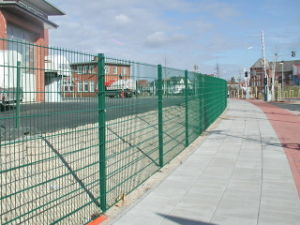 Boundary Wall Security Welded Double 868 Wire Mesh Fence with Direct Factory pictures & photos