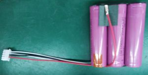 11.1V 4.4ah Lithium Ion Battery for Portable Speaker Battery pictures & photos