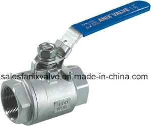 2PC Type Ball Valve with Internal Thread pictures & photos