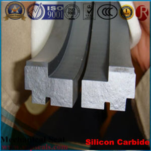 Sic Seal Bush Large Size Silicon Carbide Reaction Bonded Ring pictures & photos