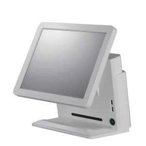 Black and White Cheap POS All in One POS System for Restaurant Super Market Cash Register