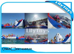 Lilytoys Factory PVC Inflatable Water Aqua Park for Sea pictures & photos