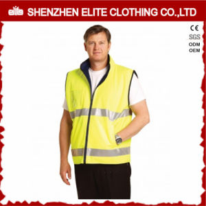 Construction High Visibility Reflective Safety Jacket Reflective Vest (ELTHJC-415) pictures & photos
