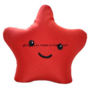 Polyester/Spandex+Plush Striped Cushion/Neck Cushion for Car/Head Support Car Cushion pictures & photos