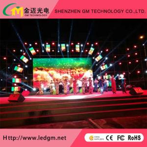 Indoor P3.91 Rental LED Advertising Screen Rental Die Casting Cabinet pictures & photos