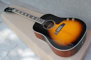 Hanhai Music/Tobacco Sunburst 41′′ Acoustic Guitar with Pickup (G160) pictures & photos