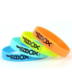 Silkscreen Silicone Wristbands pictures & photos