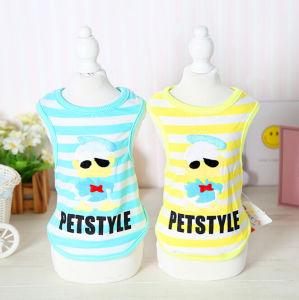 Pet Prodcuts Tang Yaya Stripe Dog Shirt Wholesale pictures & photos