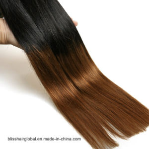 "Bliss Emerald Sg 3 in 1 Straight T Color Hair 16""-22"" Wholesale Price Virgin Brazilian Human Hair Weave pictures & photos"