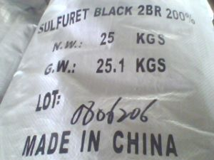 Br200% Sulphur Black for Textile Producer pictures & photos