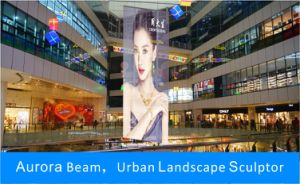 Outdoor Transparent LED Display for Advertising Billboard pictures & photos