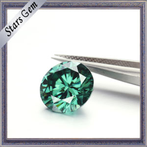 Green Colors Hearts and Arrows Moissanite Diamond pictures & photos