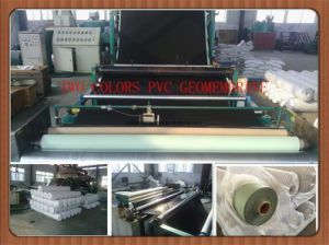 PVC Waterproof Membrane with Reinforced Polyester Fiber pictures & photos