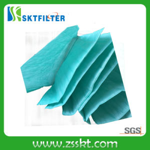 Air Conditioning Pocket Filter Bag Filter Synthetic Fiber Media pictures & photos